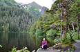 Summer Work Travel Participant Summer Photo lake hike