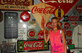 Summer Work Travel Participant Summer Photo Coca-cola sign
