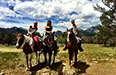 Summer Work Travel Participant Summer Photo horse back riding